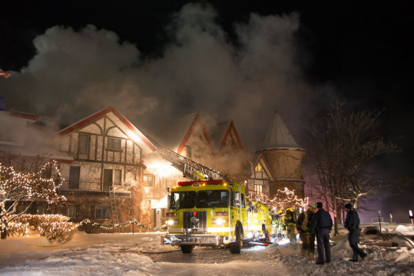 Boyne Highland Lodge Fire