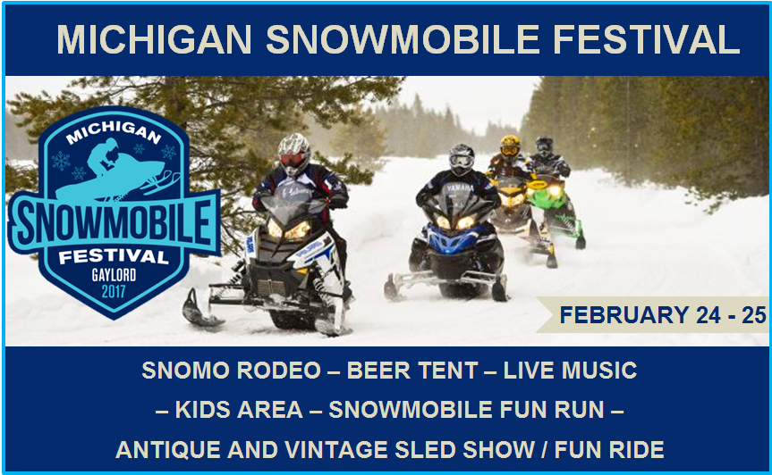Michigan Snowmobile Festival - February 24-25