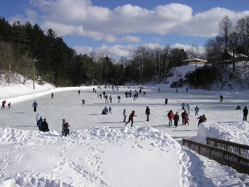 Winter Sports Park Petoskey Michigan.